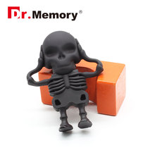 Dr.memory USB Flash Drive Skeleton Pen Drive 16g/8g/4g skull model