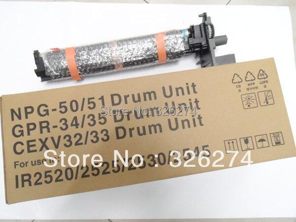IR2520 Drum Unit New Hihg Quality Copier Parts For Canon IR2525 IR2530 IR2545 Drum Kit NPG-50 Drum Unit GPR 34 CEXV32 Drum Unit