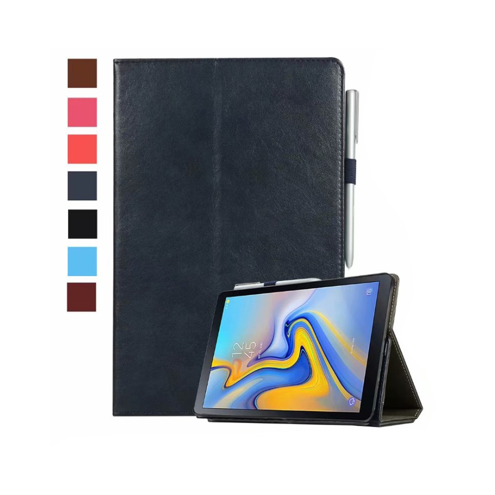 Case for Samsung Galaxy Tab A2 10.5 2018 SM-T590 SM-T595 T597 Leather Smart Magnetic Stand Cover for Galaxy Tab A2 T590 T595 аксессуар чехол onjess для samsung tab a2 10 1 sm t595 smart grey