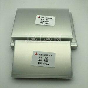 Image 5 - 250um OCA דבק עבור Ip 6/7/7.9/8/9.7/10.1/12.9/15.6 אינץ מגע מסך זכוכית Oca למינציה Lcd תיקון עבור מיצובישי Oca דבק