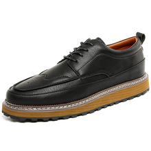 2016 Retail and Wholesales Fashion Good Quality Men's Flat Casual Shoes Handmade Seam Upper