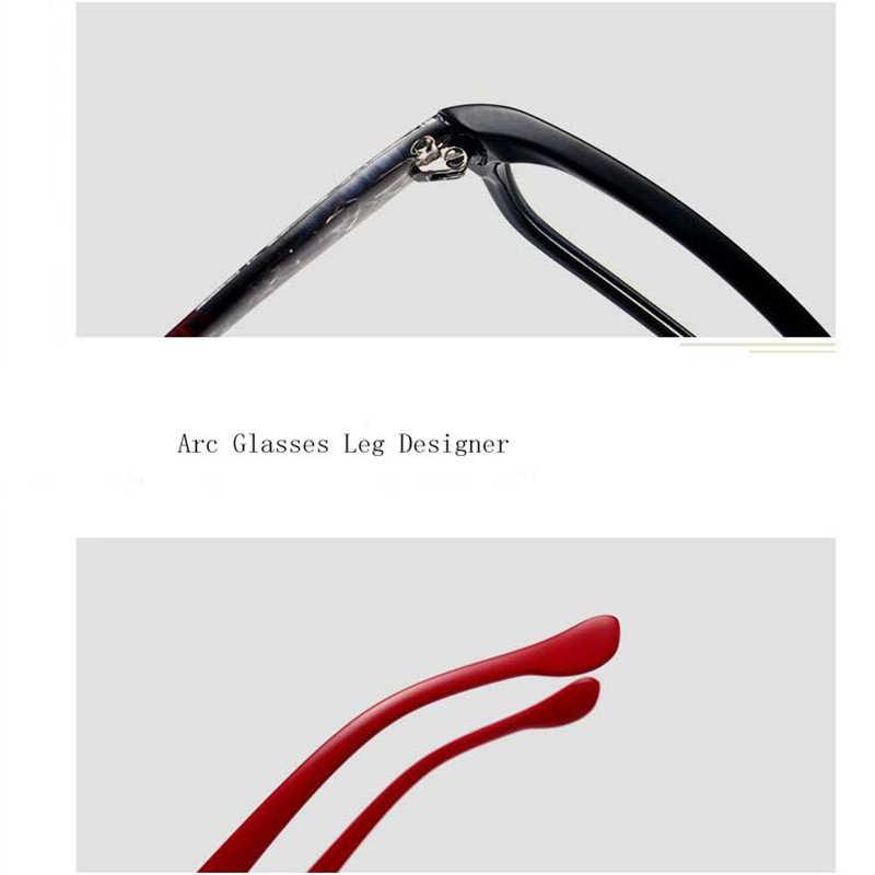 Очки для коррекции близорукости в стиле ретро, 1,0-1,5-2,0-4,0, женские и мужские модные квадратные студенческие очки для коррекции близорукости, прозрачные очки