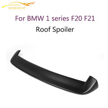 FRP Rear Roof Spoiler Wing for BMW F20 2012-2016 3D style Matt Black Trunk lip Trim Sticker Custom Spoiler Car Tuning Parts