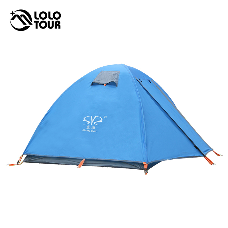 3-4 Person Ultralight Portable Aluminum Rod Camping Tent Outdoor Tourism Beach Snow Skirt Fishing Waterproof Four Season Tente good quality flytop double layer 2 person 4 season aluminum rod outdoor camping tent topwind 2 plus with snow skirt 3colors