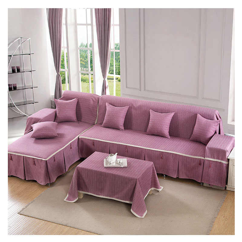 2 3 Seater Sofa Cover Solid Anti Slip