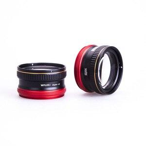Image 1 - Weefine lente Macro WFL05S + 13 impermeable, lente de primer plano, montura M67 para cámara Sony RX 100, fotografía subacuática