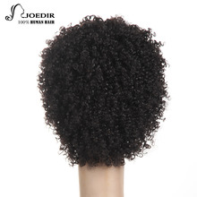 Joedir Remy Human Hair Wigs For Black Women  Machine Made Brazilian Kinky Curly Short Wig Free Shipping
