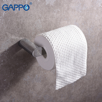 GAPPO Paper Holders bathroom tissue paper Holders hanging storage holder wall mounted bathroom hardware accessories