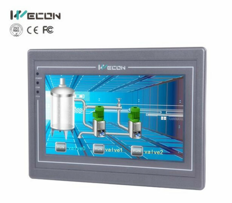 2017 7 Human Machine Interface +plc With usbWifi , Canbus,IP camera