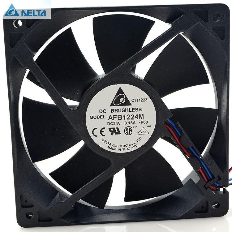 Delta AFB1224M-FOO 24 V 0.18A 12025 12 CM inverter server di ventola di raffreddamento