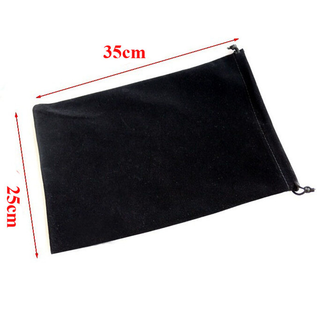 20pcs/lot Large Big Size 25x35cm Muti colours Drawstring Velvet Bags Pouches Wedding Party Gift Packaging Bag Can Customize Logo