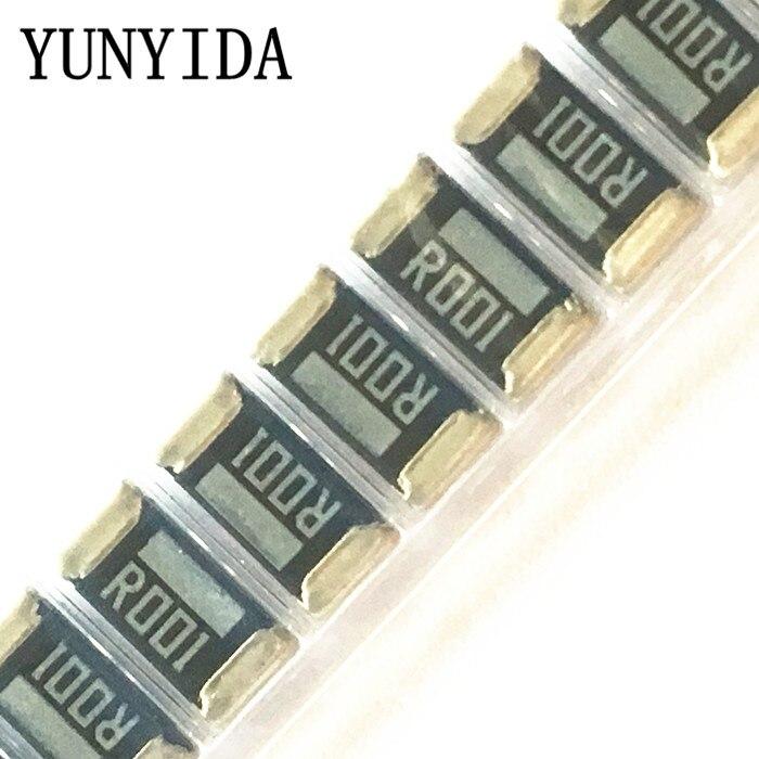 50PCS Alloy Resistor  2512 0.001R 1mR  R001 2W 1%