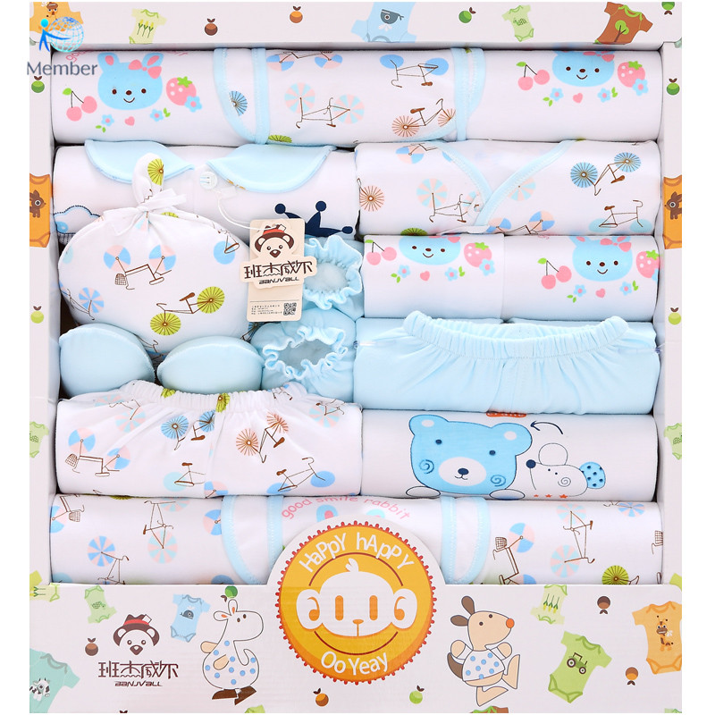 d35cacd46 Baby girl ropa para recién nacidos ropa de bebé de Algodón Recién Nacido  regalo cajas traje de bebé recién nacido Productos Para Bebés 16 Set de  Regalo de ...