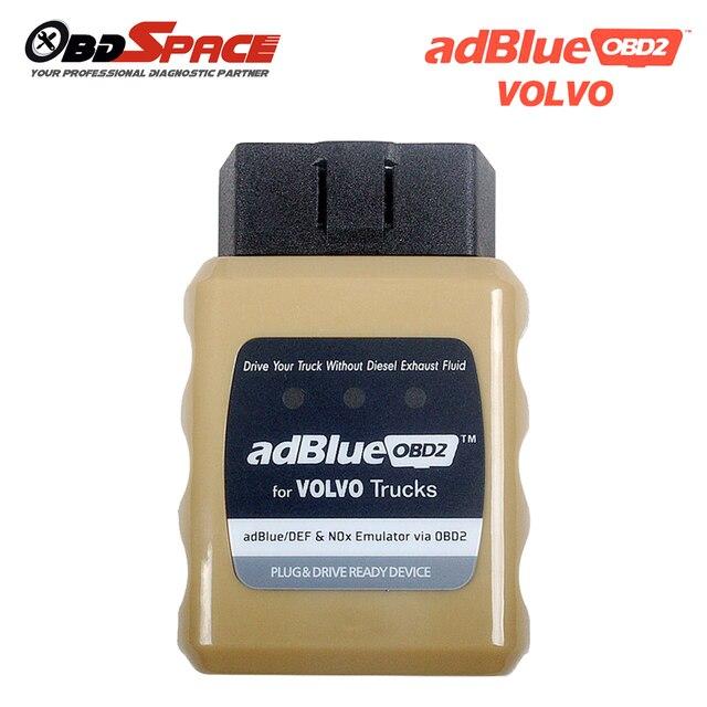 Для VOLVO Truck Adblue Эмулятор AdblueOBD2 Adblue/DEF Nox Датчик поврежден SCR Системы через OBD2 Adblue Эмулятор для VOLVO