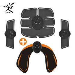 EMS хип тренер мышцы Вибрационный упражнения стимулировать машины фитнес оборудование 6 режимов средство для похудения тренировки