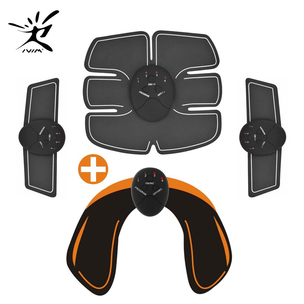 EMS hanche formateur Muscle vibrant exercice stimuler Machine Fitness équipement 6 Modes corps minceur Shaper Machine entraînement