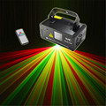 New Mini Remote DMX 200mW RGY Laser Stage Lighting Scanner DJ Dance Party Show Light LED Effect Projector Mix Yellow Red Green