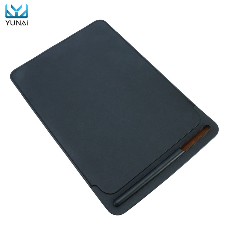 YUNAI 2018 For iPad Pro 10.5 Cover Case PU Leather Sleeve Tablet Case Cover Pouch Skin With Pencil Slot For iPad Pro 10.5 2016 wholesale 7 inches universal tabet pc pda sleeve pouch pu leather bag case cover for ipad mini for samsung tablet 7 inch