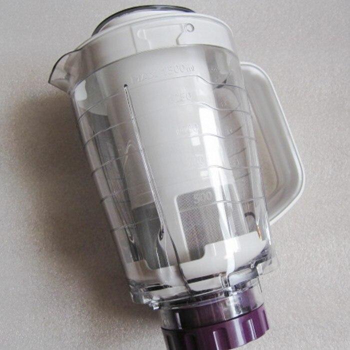 100% nuevo producto Original licuadora jarra tazas de jugo + cabezal de corte mezclador adecuado para philips HR2166 HR2165 HR2163 HR2162-in Piezas de exprimidor from Electrodomésticos    1