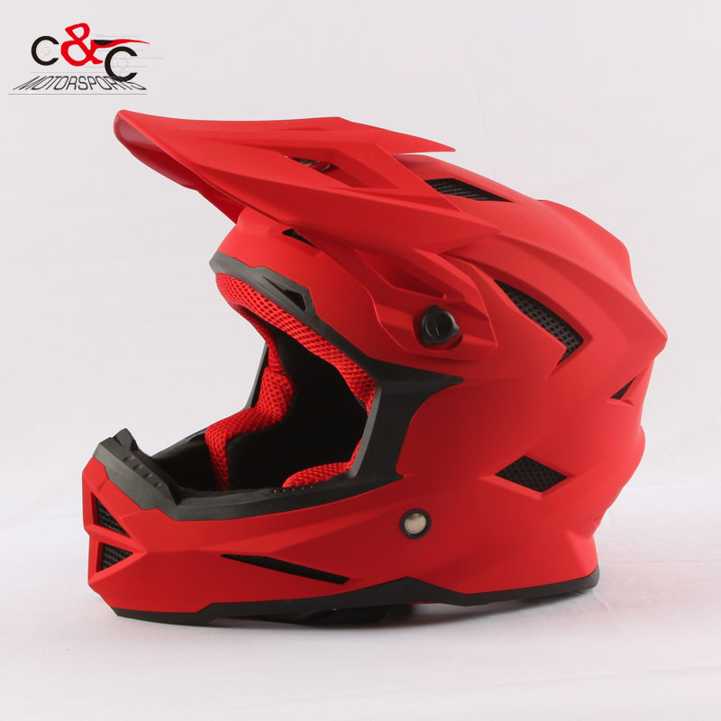 ФОТО protect kids helmets free shipping casco capacetes off road motorcycle helmet atv dirt bike cross motocross helmet XS S 52-54cm