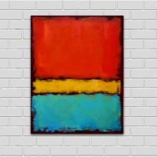 Mark Rothko Still Life Classical Oil Painting Drawing Art Spray Unframed Canvas Wall Pictures For Living Room