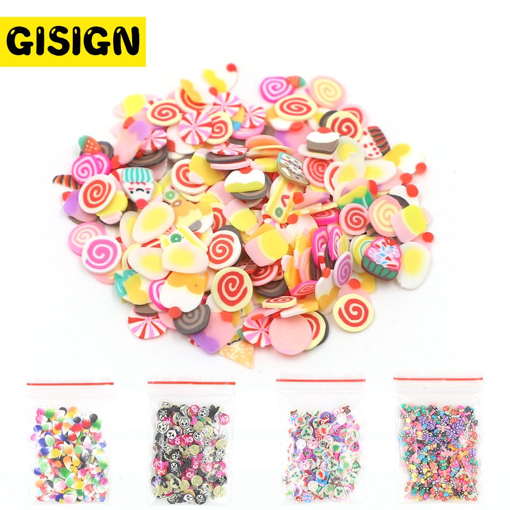 15 Styles Charms For Slime Supplies Kit Fluffy Slimes Fruit Polymer DIY Clear Slime Accessories Slide Putty Clay Toys For Kids