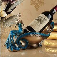 Beauty wine rack, home decoration crafts, living room office desktop gadgets, creative gifts