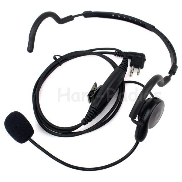 2 Pin Earpiece Mic PTT Headset For Motorola Radio Two-way Radios GP88 GP300 GP2000 P040 PRO1150 EP450 EP350