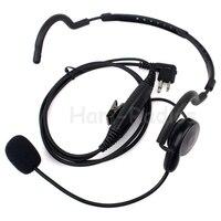 2 Pin PTT Słuchawka Mic Słuchawki motorola Radio Radiotelefonów GP88 GP300 GP2000 P040 PRO1150 EP450 EP350