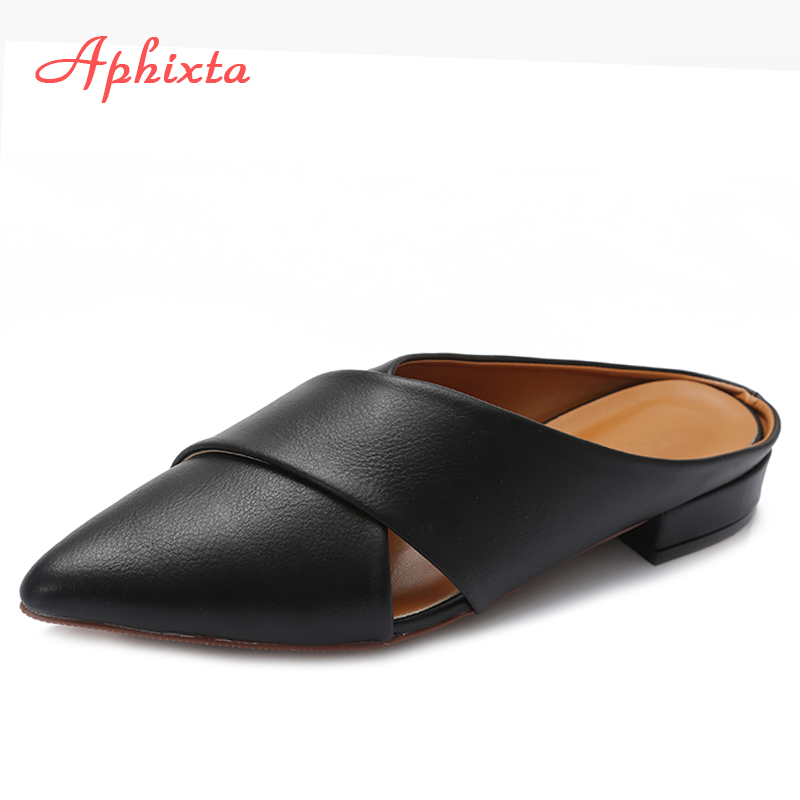 Super explosion Womens Pointed Ballet Flats Soft Comfort Slip On Dress Shoes