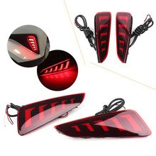 LED Rear Bumper font b Lamps b font Fog Brake Tail Lights Taillight For Toyota C