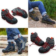 Hiking Breathable  Waterproof Mountain Trekking Boots