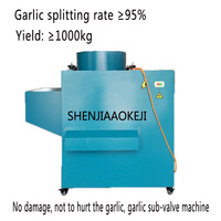 RYF 1000 станок для чистки чеснока/чеснок разделительная машина 220 В промышленный, для чеснока Гвоздика машина пищевой процессор 1.8KW 1 шт