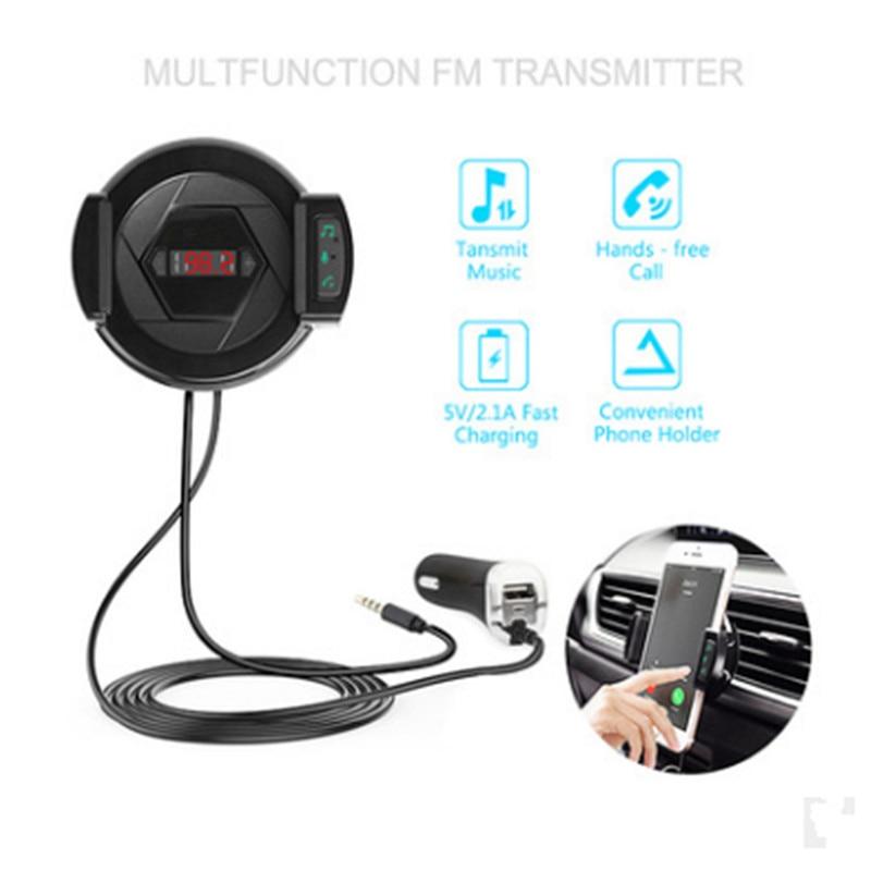 IDEAUDIO Multifunciones Bluetooth 4.1 FM Transmisor y cargador para - Electrónica del Automóvil