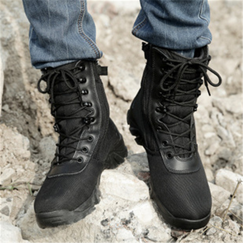 Fashion New America Swat Men S Tactical Boots Autumn And