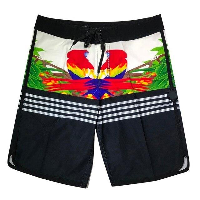 3ed13c0c350fcd 2019 nouveau Phantom hommes conseil Shorts maillots de bain mode animaux  imprimer Flamingo plage séchage rapide élastiques