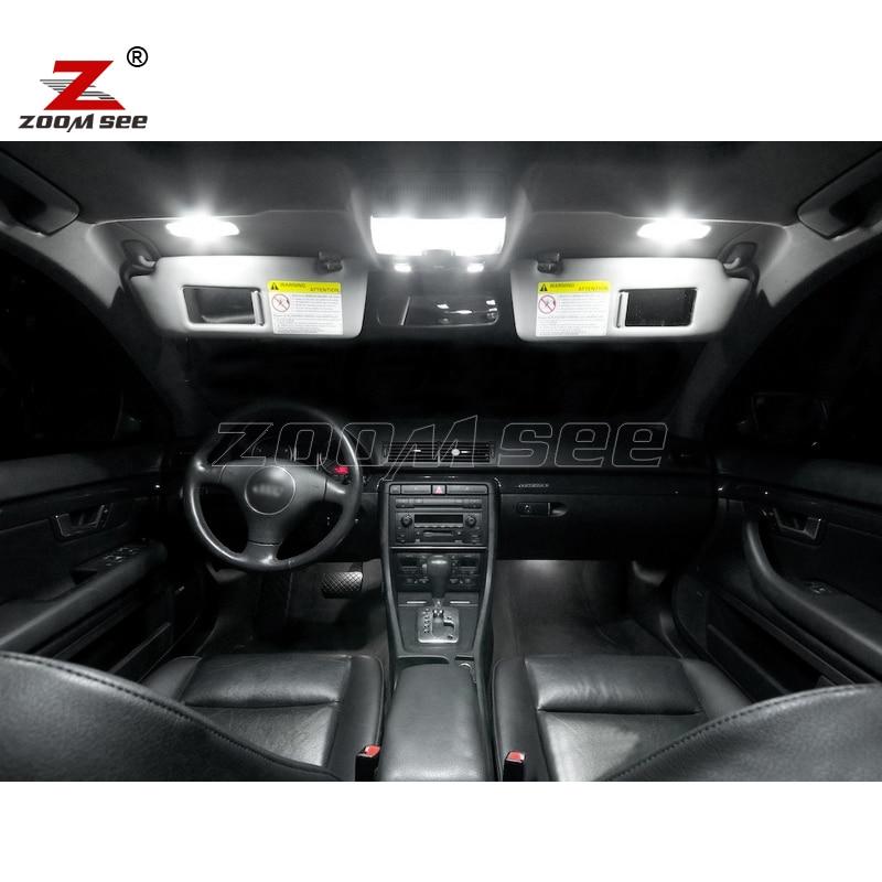 18pc X 100% Canbus LED lampa daxili günbəz xəritəsi əlcək qapı - Avtomobil işıqları - Fotoqrafiya 2