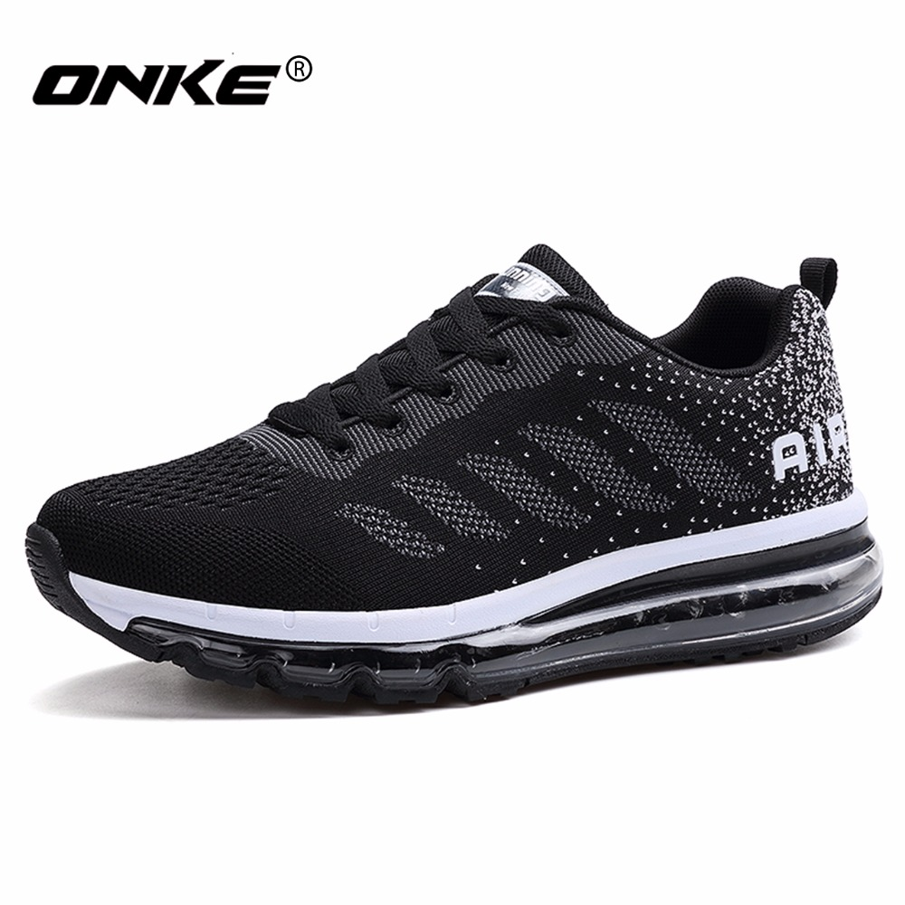 Hot Sale Running Shoes Air Cushion Men Sports Shoes Brethable Super Cool Sneakers Women Professional Zapatos Para Correr