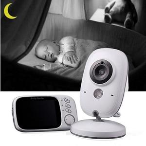Image 3 - ワイヤレスベビーモニター VB603 3.2 インチ電子ベビーシッターラジオビデオカメラでナイトビジョン温度監視