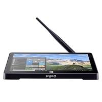 Оригинальный PiPo X8 Pro ТВ коробка Стиль 7 дюймов Мини ПК 2 Гб Оперативная память 32 GB Встроенная память Windows 10 & Android 5,1 четырехъядерный процессор