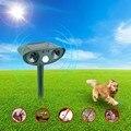 Gato ultra-sônico repeller de pragas repelente de pragas cão raposa dissuasor chaser repelente eco-friendly solar powered jardim pragas animal repelente