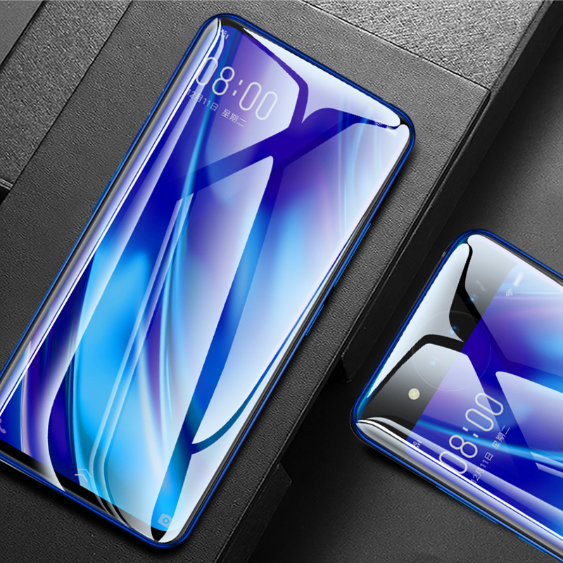 MicroData For VIVO NEX Front Tempered Glass Full Coverage 9D 9H HD Ultra thin For Vivo NEX Screen Protector Protective Film in Phone Screen Protectors from Cellphones Telecommunications