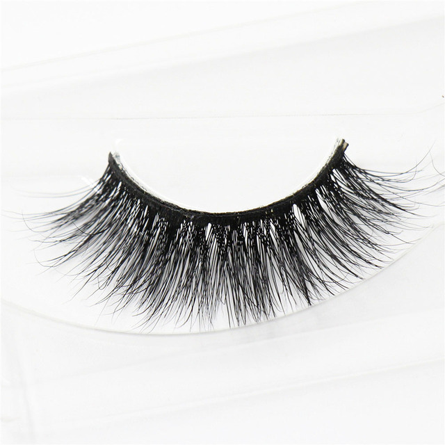 3D mink eyelashes wholesale 100% real mink fur Handmade crossing ...