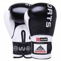 אדום שחור כחול Sanda כפפות אגרוף שק חול משלוח להילחם קראטה טאקוונדו כפפות אגרוף תאילנדי MMA מגן Boxeo luva דה תיבת 10 oz