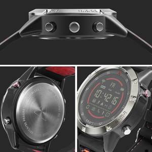 Image 4 - Nashone montres pour hommes étanche montre intelligente passomètre rappel dappel multi fonction en acier inoxydable montre de sport horloge numérique