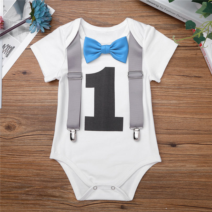 28e8ba61971 Buy baby boy 1st birthday rompers and get free shipping on AliExpress.com