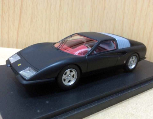 ФОТО RARE 1/43 Scale p6 pininfarina concept 1968 Black