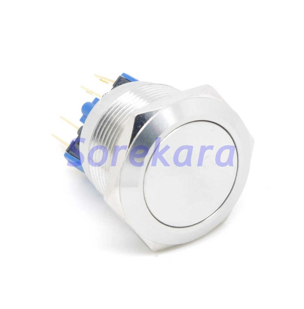 22mm Stainless Steel Momentary Pushbutton Switch 1no 1nc Ip65 Orico Phi 35 35inch Hdd Protector Yellow Ul