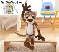 lovely cartoon leopard plush toy about 60cm soft doll birthday gift s0194