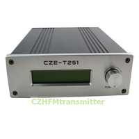 Cze t251 0 25 Вт Регулируемая мощность Профессиональные FM стерео вещания передатчик Бесплатная доставка